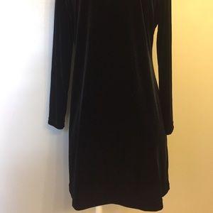 Studio Ease Dresses - Long Sleeve Velvet Dress